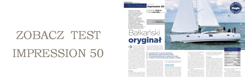 zobacz test impression 50